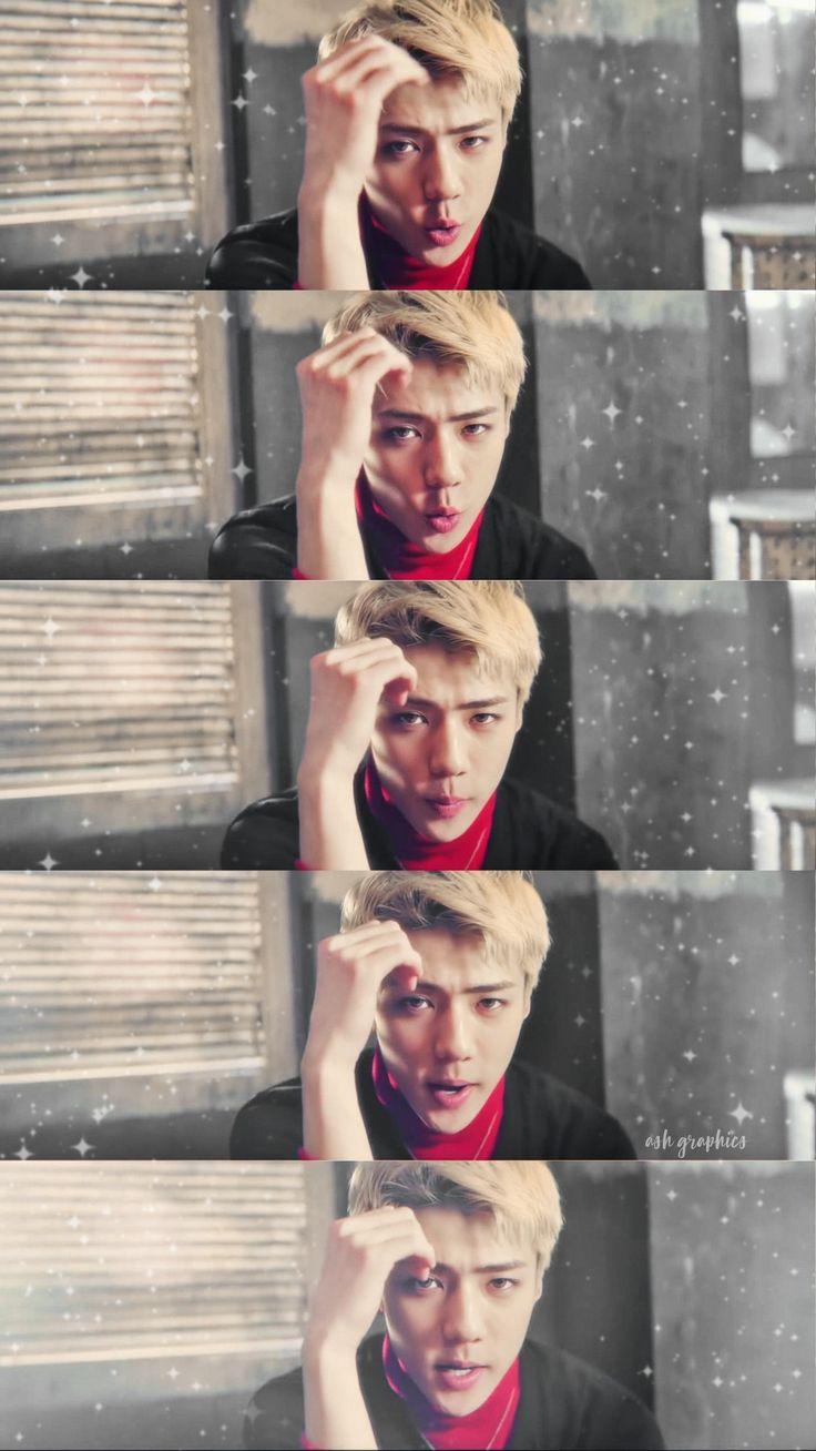 #SEHUN #EXO #WALLPAPER by me♡