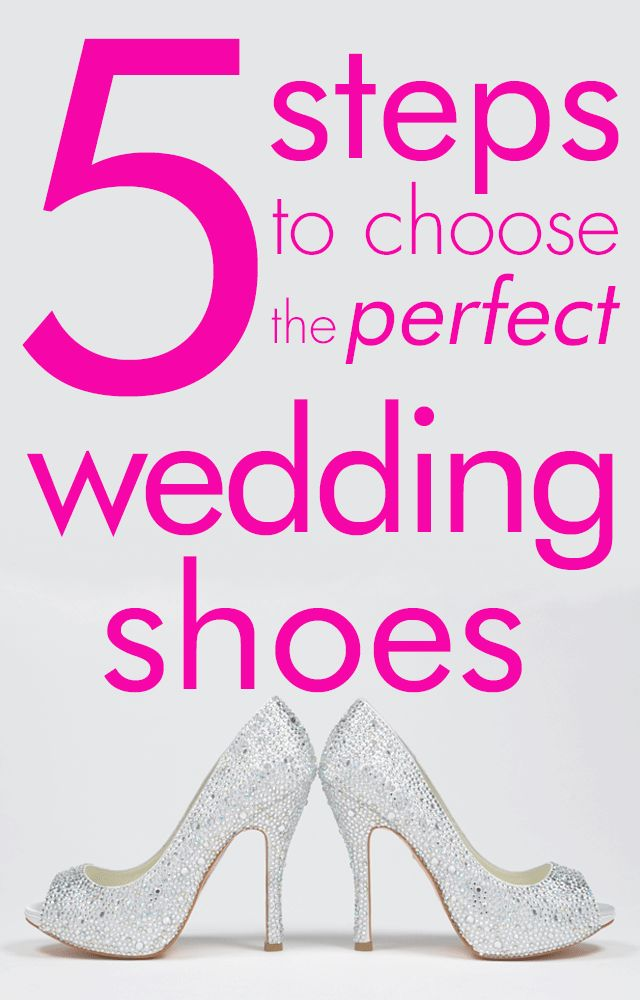 How to Choose the Best Bridal Shoes for Your Wedding Outfit: 5 steps to  choose
