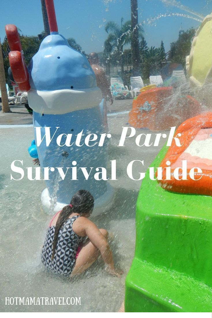 Water parks are fun for kids, but not always for parents. Click for my 6 tips to visiting water parks with kids: A survival guide for parents.