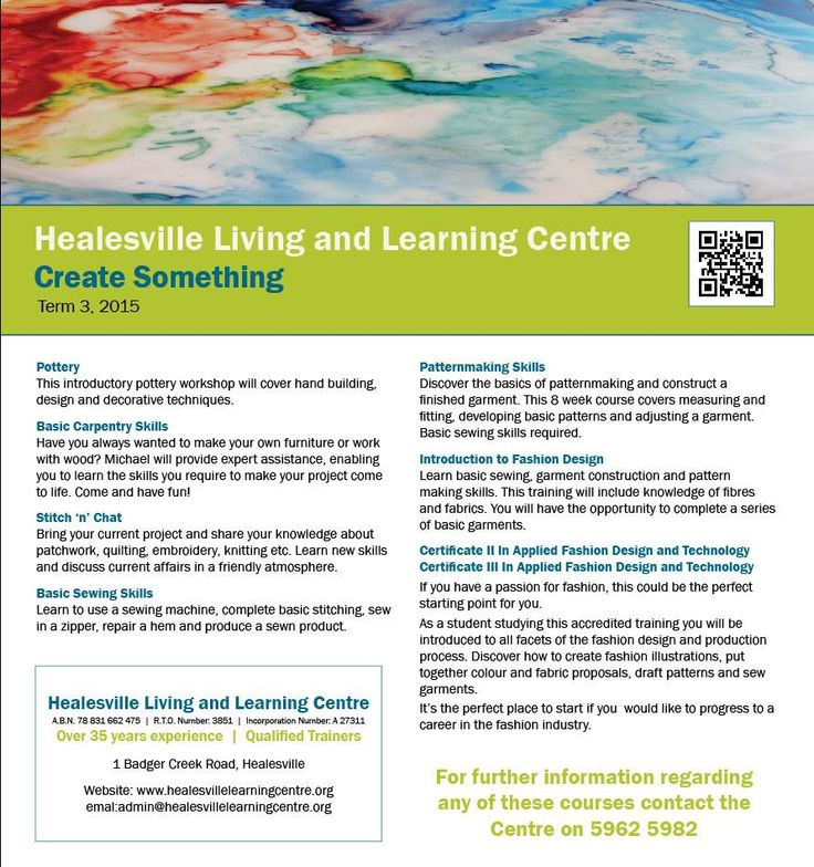 Create something at Healesville Living and Learning Centre - Term 3, 2105 http://www.healesvillelearningcentre.org
