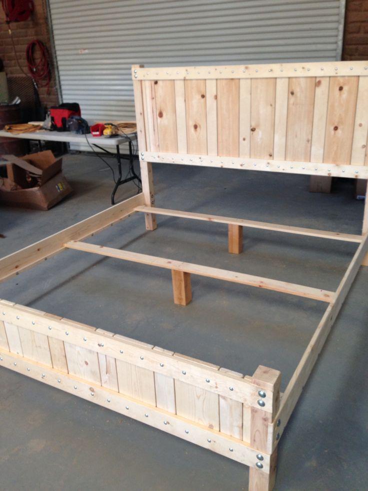 17 best ideas about king size bed frame on pinterest. Black Bedroom Furniture Sets. Home Design Ideas