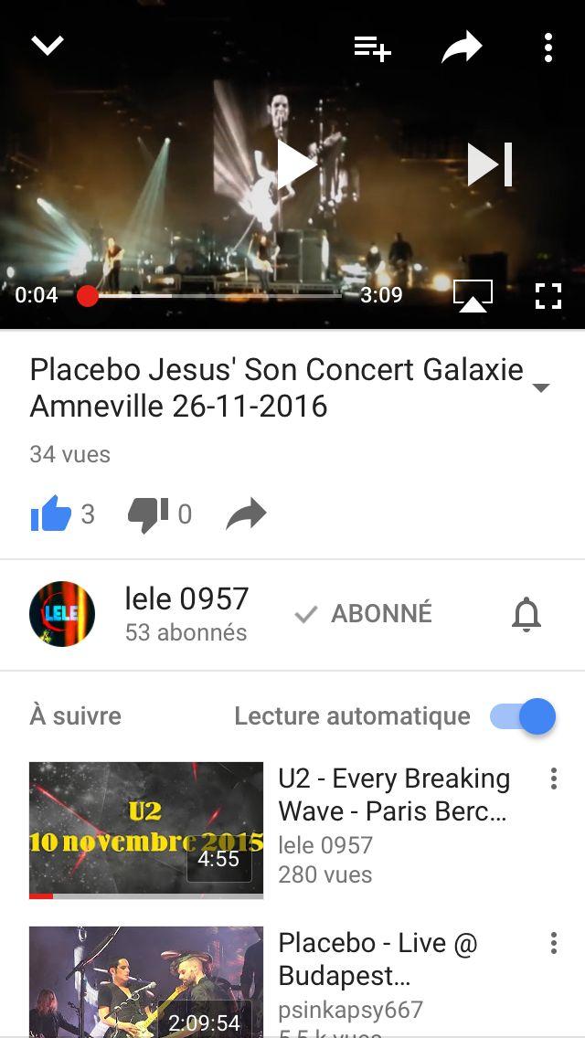 Vidéo disponible sur YouTube