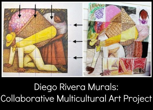 Diego rivera for kids make your own collaborative mural for Arts and crafts mural