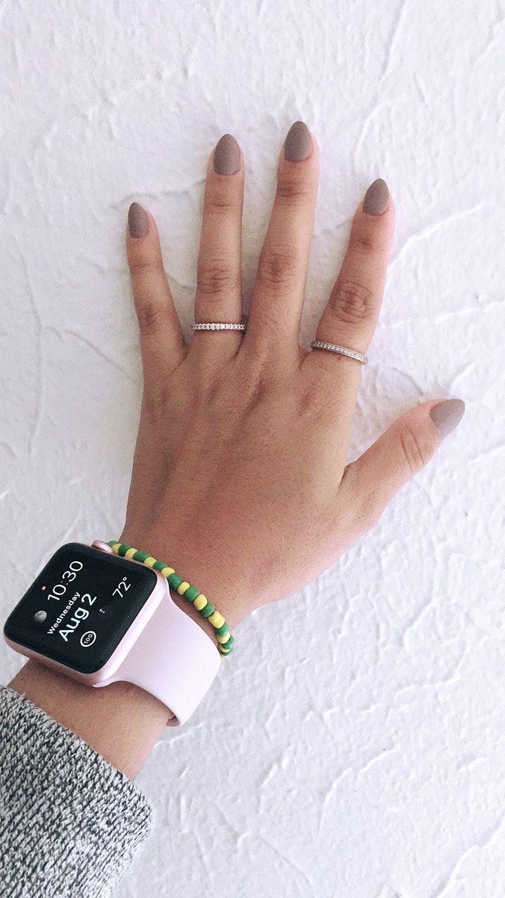 Short almond nails #nails #almond #acrylic #shortnails # ...