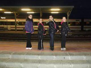 Esperando el tren :)