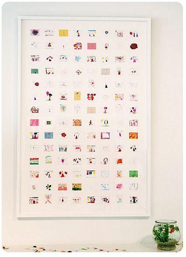 Collage of artwork #craftsChildren Artworks, Collage Artwork, Kid Art, Display Art, Art Collage, Shrink Art, Child Art, Kids Art Projects, Kids Artworks