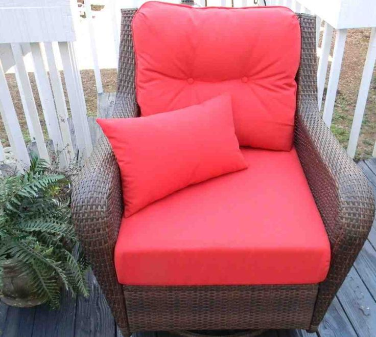 Deep seat patio chair cushions patio chair cushions for Deep seating outdoor furniture