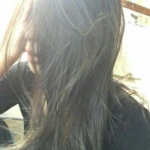 ブルージュ ヘアカラー 光に透けて綺麗    Hair&make  Welina  Hitomi.yanagida  My works