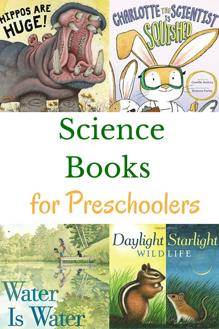 Your youngest scientists will enjoy these preschool science books. Includes…
