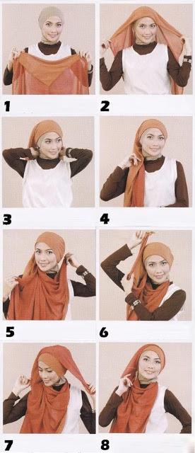 Cara Menggunakan Hijab Modern
