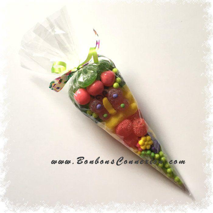 Candy cone - Cornet de bonbons