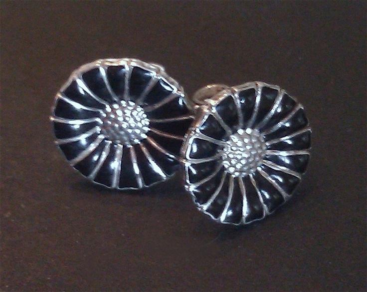 Marguerit-øreringe
