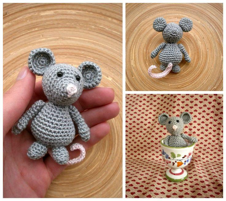 Topolino - Little mouse crochet