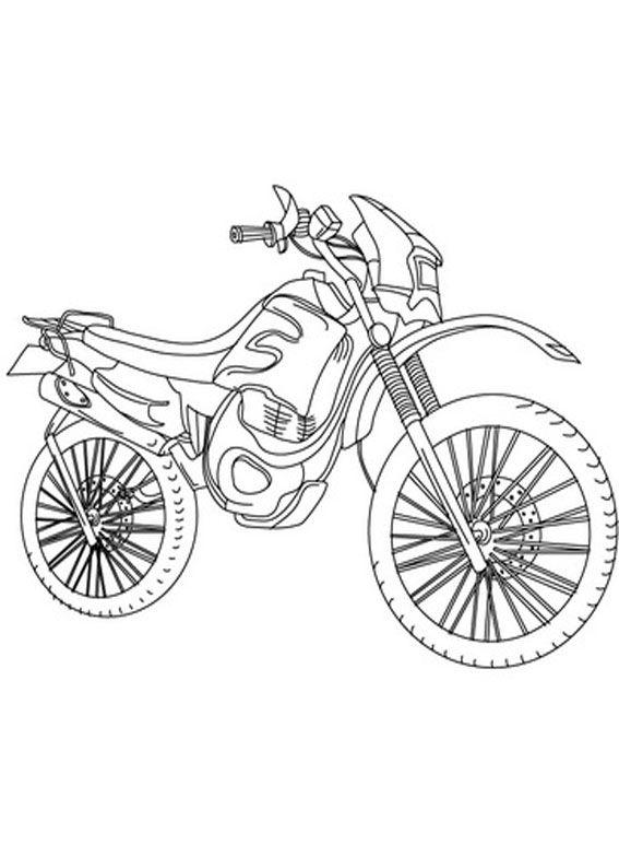 30 Disegni Di Moto Da Stampare E Colorare Disegni Pagine Da