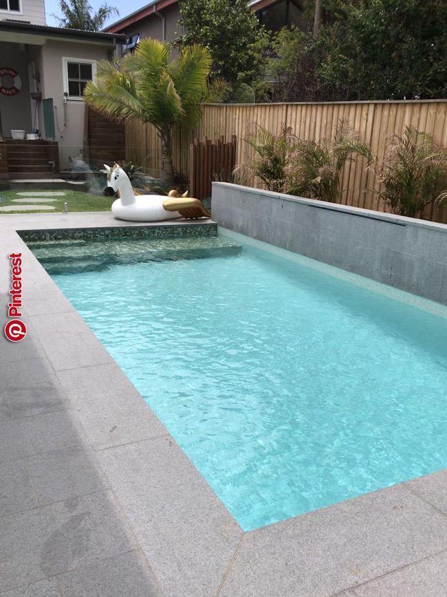 Dreams New Home In 2019 Pinterest Swimming Pools Backyard Hampton Pool And Small Backyard Pools Kleine Hinterhof Pools Hintergarten Kleiner Pool Design