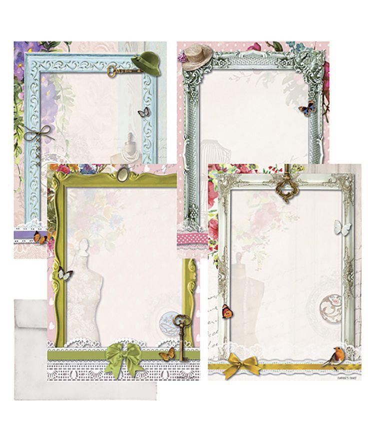 Daphne's Diary A4 writing paper set 'frames'