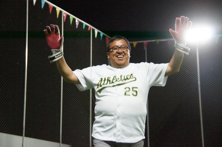 Ademas de la Foto el beisbol el fútbol merece mis respetos
