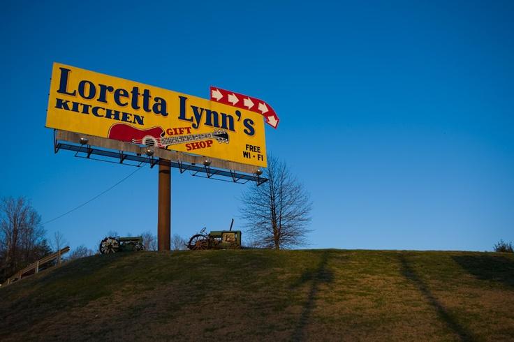 Loretta Lynn S Kitchen  Tn  Hurricane Mills Tn