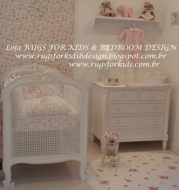 Coleção Provence Baby. Loja RUGS FOR KIDS & BEDROOM DESIGN. Email : rugsforkids@terra.com.br - www.rugsforkids.com.br - www.rugsforkidsbdesign.blogspot.com.br - Rua Sebastião Velho, 71, Pinheiros, São Paulo. Tel : 11 3062-3443. Atendemos todo o Brasil.