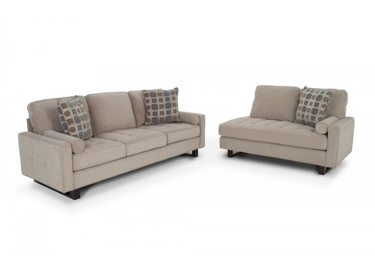 Lizzie 92 sofa chaise living room sets living room for Chaise lounge couch set