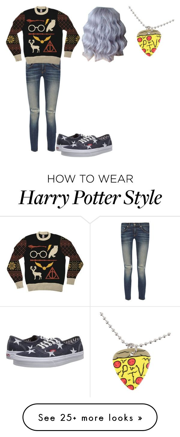 """Untitled #361"" by jjgraybill01 on Polyvore featuring rag & bone and Vans"