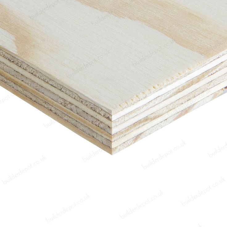 18mm x 1220mm x 2440mm Softwood C+/C WBP Plywood - Sheet Materials - Timber & Sheet Materials