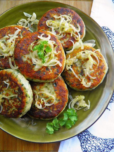 Kotlety z gotowanych ziemniaków ze szpinakiem | sio-smutki! Monika od kuchni