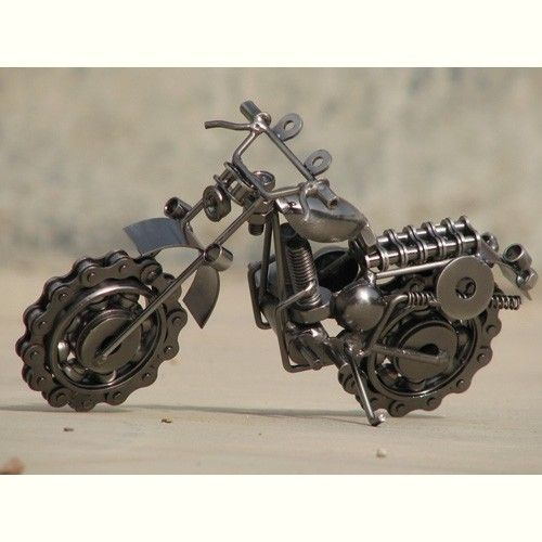 Wrought Iron Handicraft Article Motorcycle Die Casting