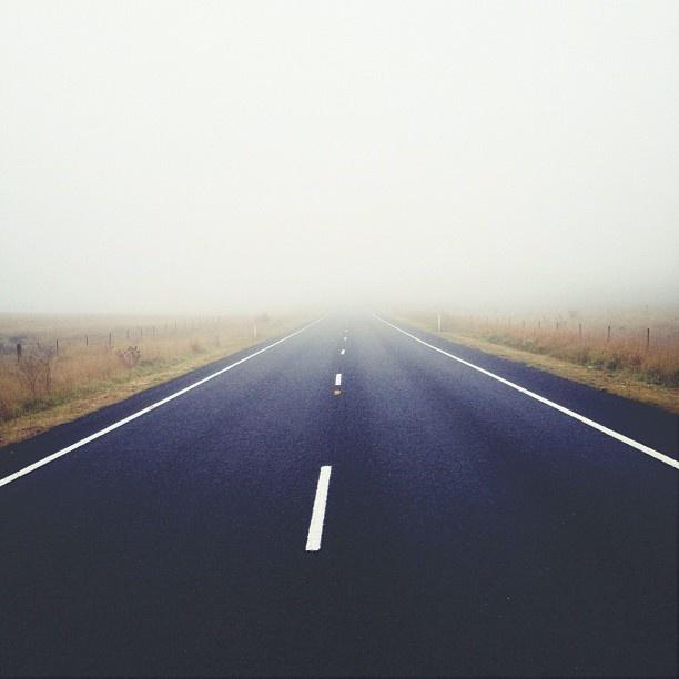 "@iquegre's photo: ""#road #mist"""
