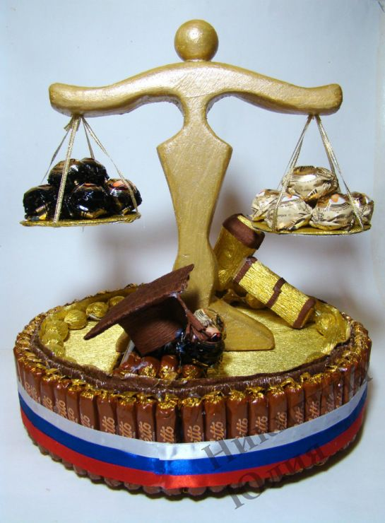 Gallery.ru / Фото #183 - Букеты из конфет в Новочеркасске часть 1 - Yulia1