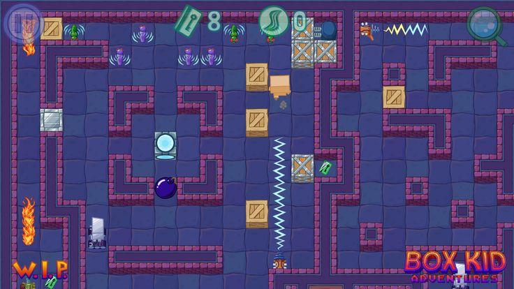 Saturday Box Kid. #screenshotsaturday #gamedev #indiedev #GameMaker #polishgamedev #gaming #videogames #puzzle