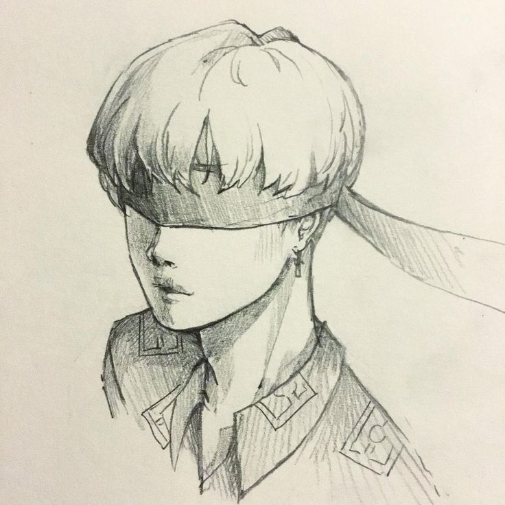 """7,368 Likes, 50 Comments - :3 (@minami_oo) on Instagram: """"Drawing no eyes is quite fun *v* #jimin #bts #bloodsweatandtears #sketch"""""""