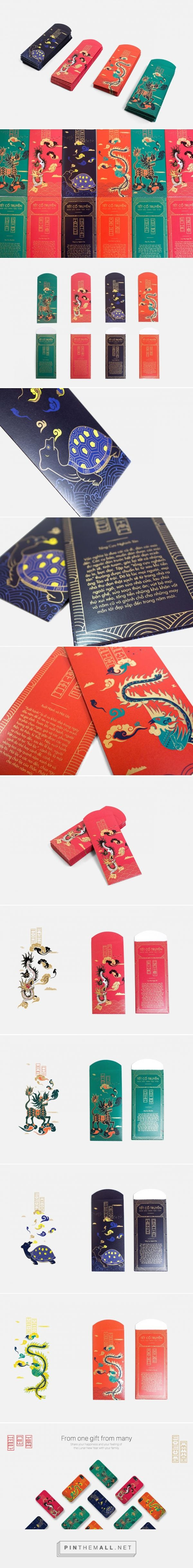 Red Envelope for Lunar New Year - Packaging of the World - Creative Package Design Gallery - http://www.packagingoftheworld.com/2016/02/red-envelope-for-lunar-new-year.html