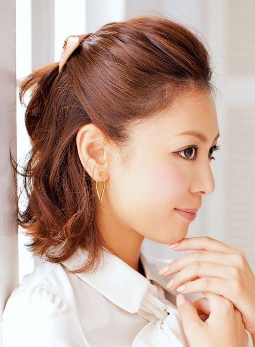 海・雨・風でも崩れない髪型アレンジで可愛く♡女の子らしいアレンジ術!女子力アップのハーフアップ参考一覧です♡