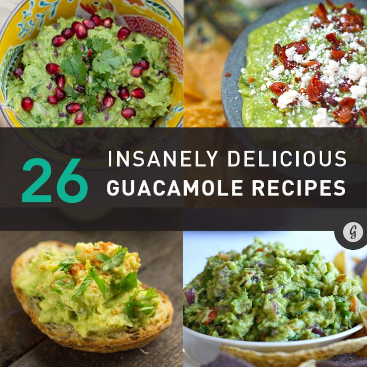26 Creative Ways to Make Guacamole Even More Delicious #guacamole #recipes #cincodemayo