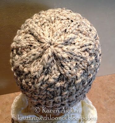 Knitting With Looms: Knifty Knitter this site has alot of knifty knitter projects