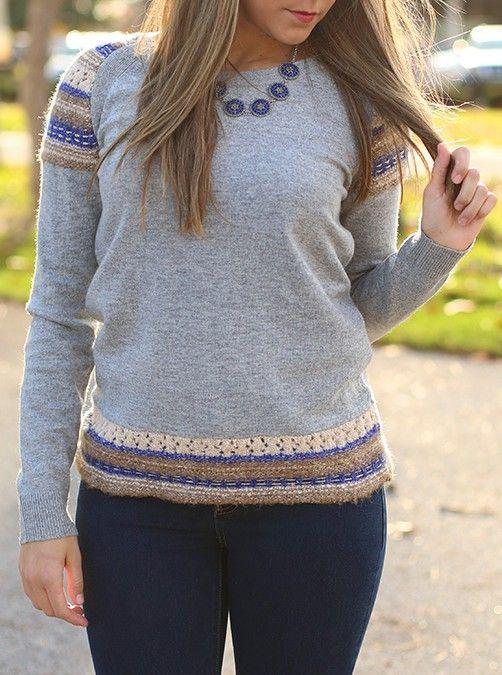 Winter Mittens Sweater