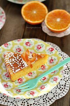Pan d'arancio (torta all'arancia) | Chiarapassion