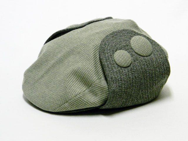 ボタンハンチング(グリーン)  #ピーチブルーム帽子店 #Hat #帽子 #ハンチング #hunting