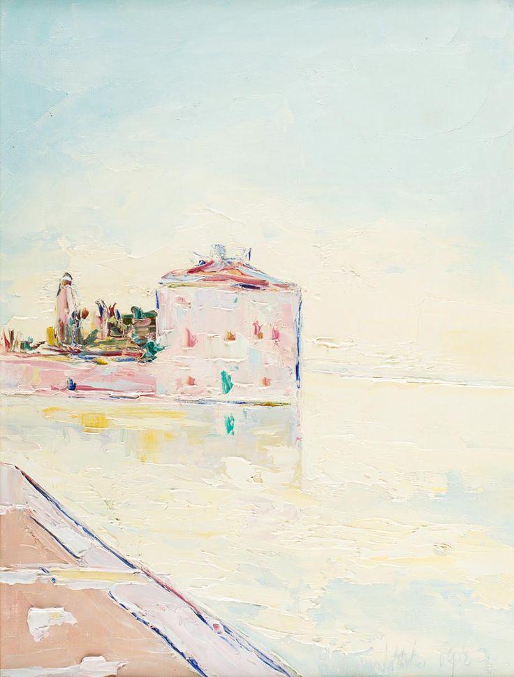 WŁODZIMIERZ TERLIKOWSKI (1873 - 1951)  WENECJA, 1929   olej, płótno; / 61x46 cm