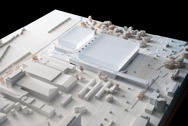 acrylic  maquette, architectural model, maqueta, modulo