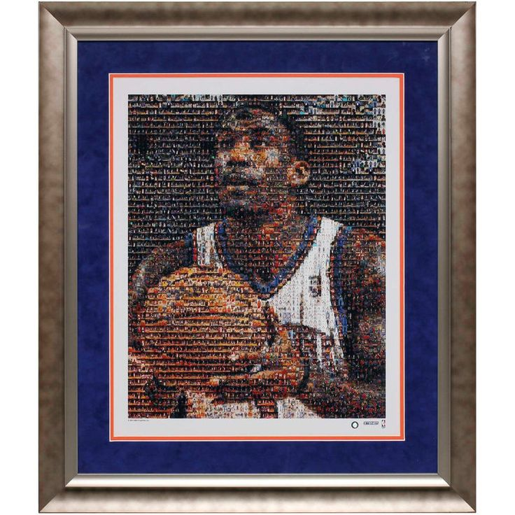 Amare Stoudemire New York Knicks 16'' x 20'' Framed Mosaic