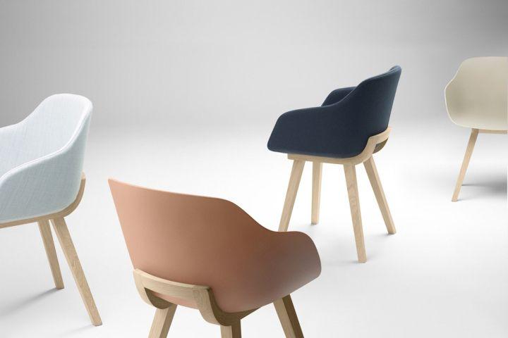 Kuskoa Bi chair by Jean Louis Iratzoki for Alki