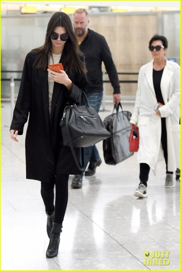 kendall kris jenner airport london 01