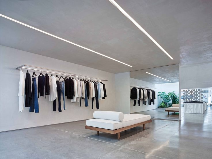 Los Angeles Based Standard Architecture Has Completed A Store For Fashion  Brand Helmut Lang That. Shop Interior DesignRetail ...
