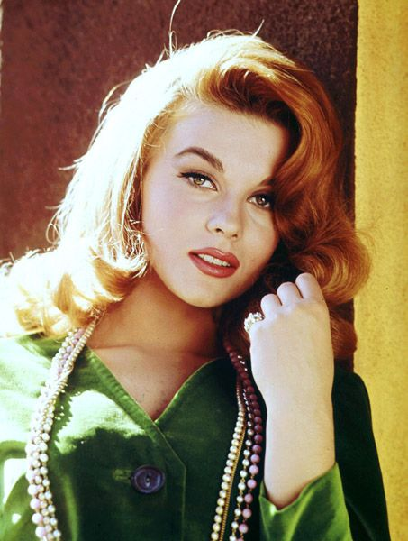 I love her and this is how I remember her from Viva Las Vegas. So beautiful. Ann-Margret