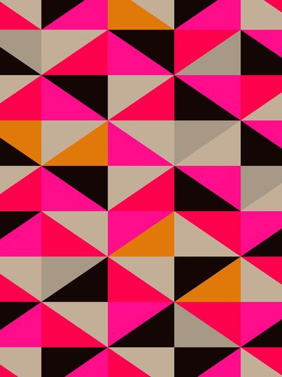 colour   pattern 5 Art Print by Georgiana Paraschiv)