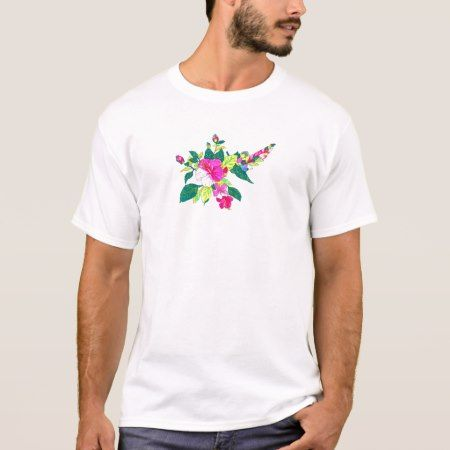 Hibiscus T-Shirt - tap to personalize and get yours