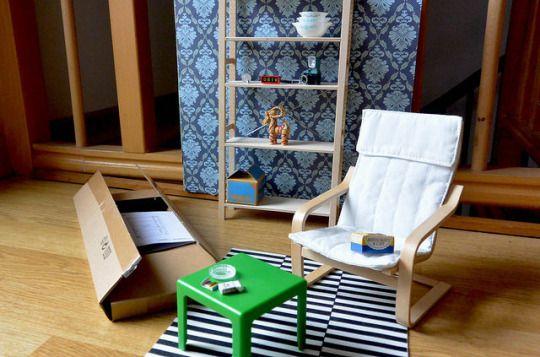 55 besten ikea mini m bel f r 39 s puppenhaus vitra design bilder auf pinterest ikea spielzeug. Black Bedroom Furniture Sets. Home Design Ideas