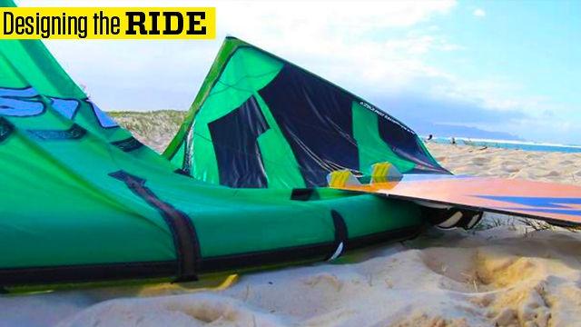 Designing the Naish Ride Kite by naishkiteboarding. Naish Kite Designer, Damien Girardin, explains the design process and specifications of the new Naish Ride kite.